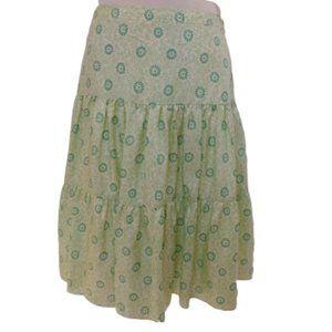 Banana Republic Silk Print Lined Skirt- Sz. 4